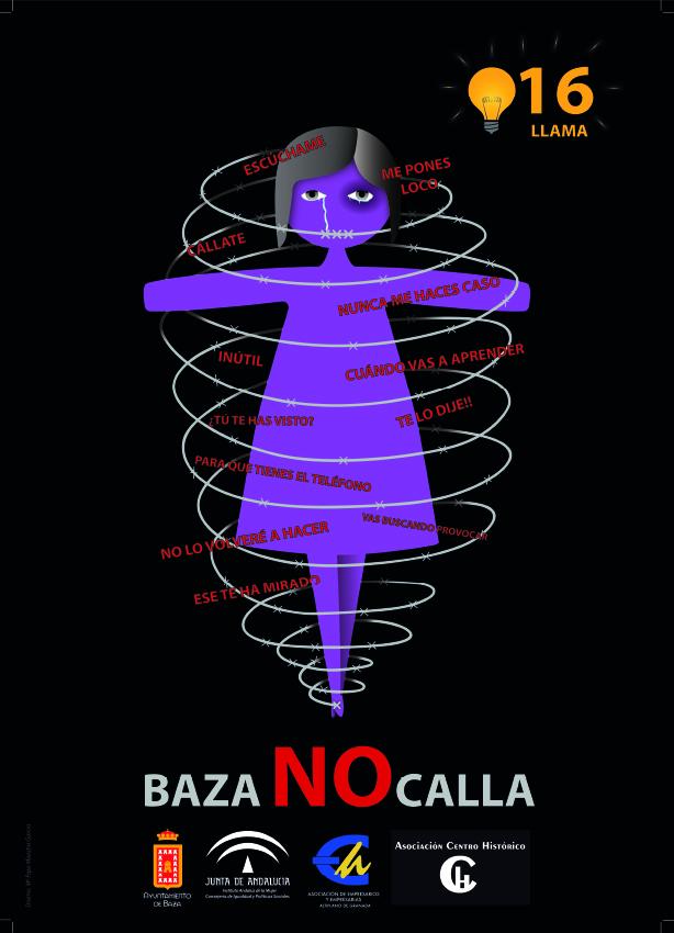 Cartel del 25 nov Baza no calla