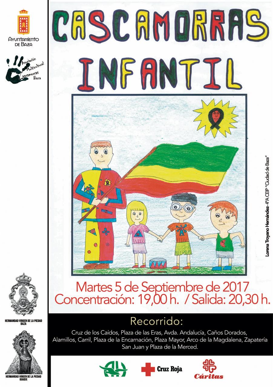 CArtel CAscamorras Infantil2017