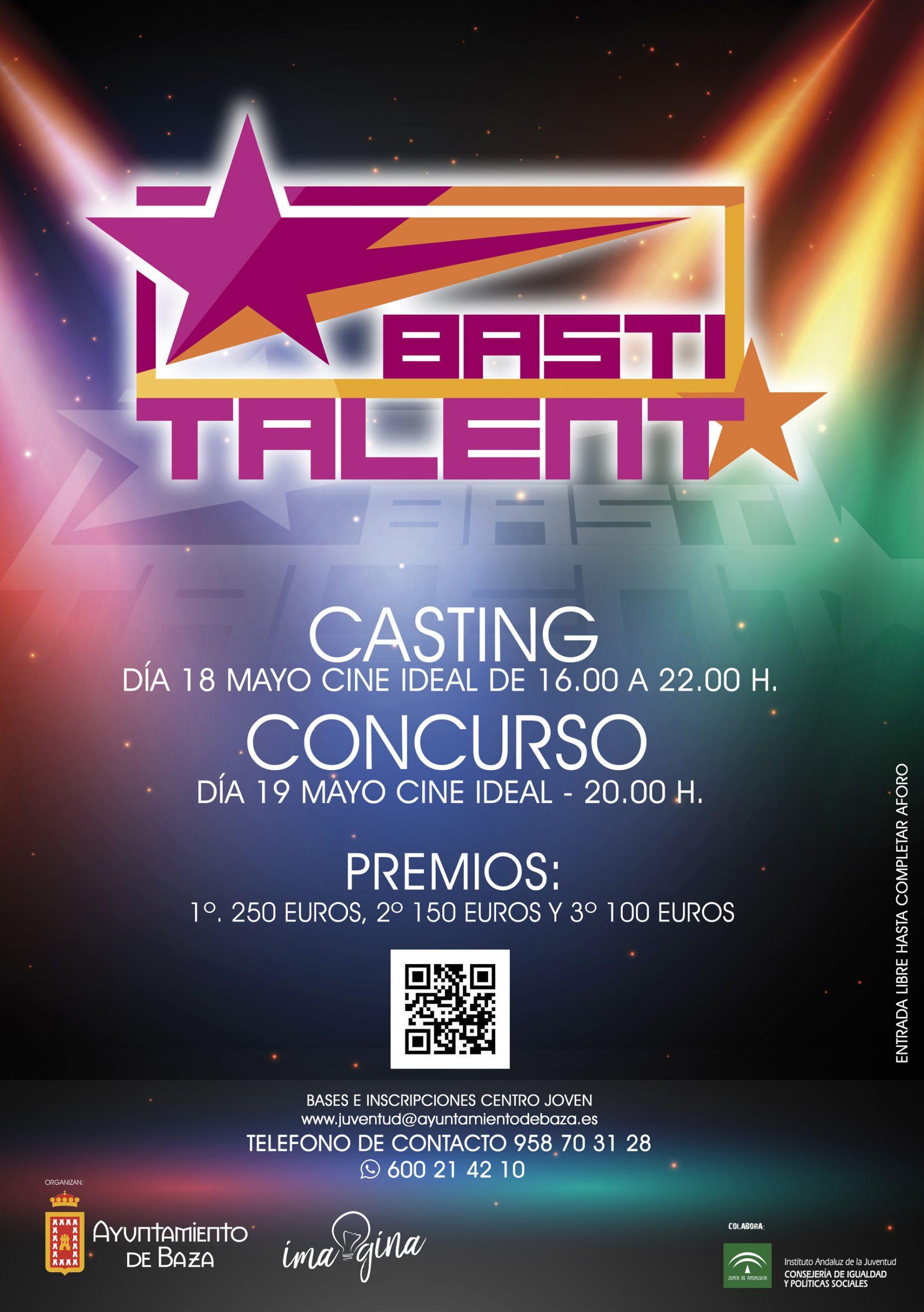 Cartel Basti Talent 2018
