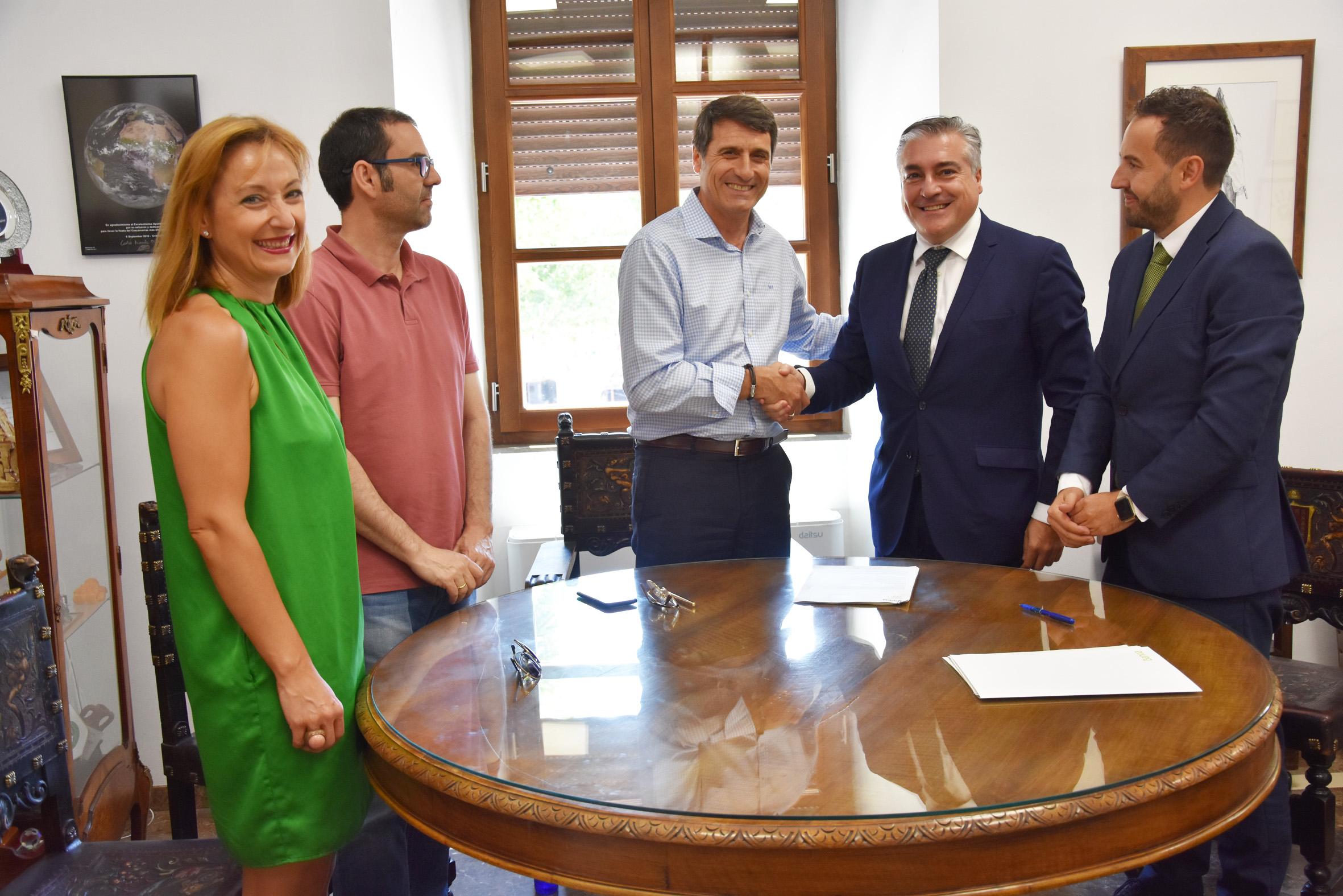 Firma del crédito para la ejecución de los FEDER