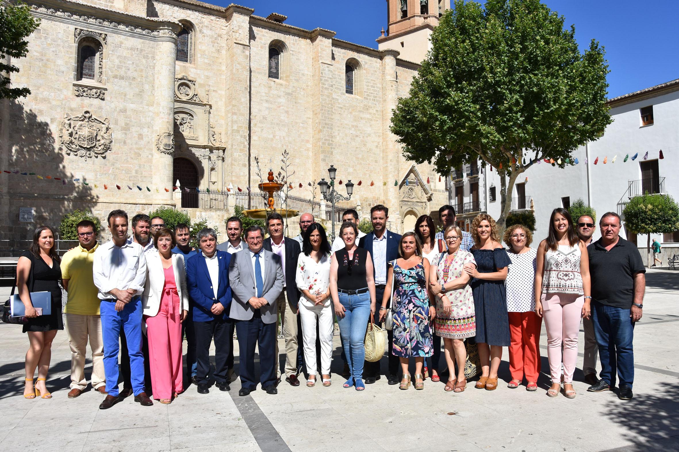 Representantes de la Junta, Estado, Diputación y ayuntamientos