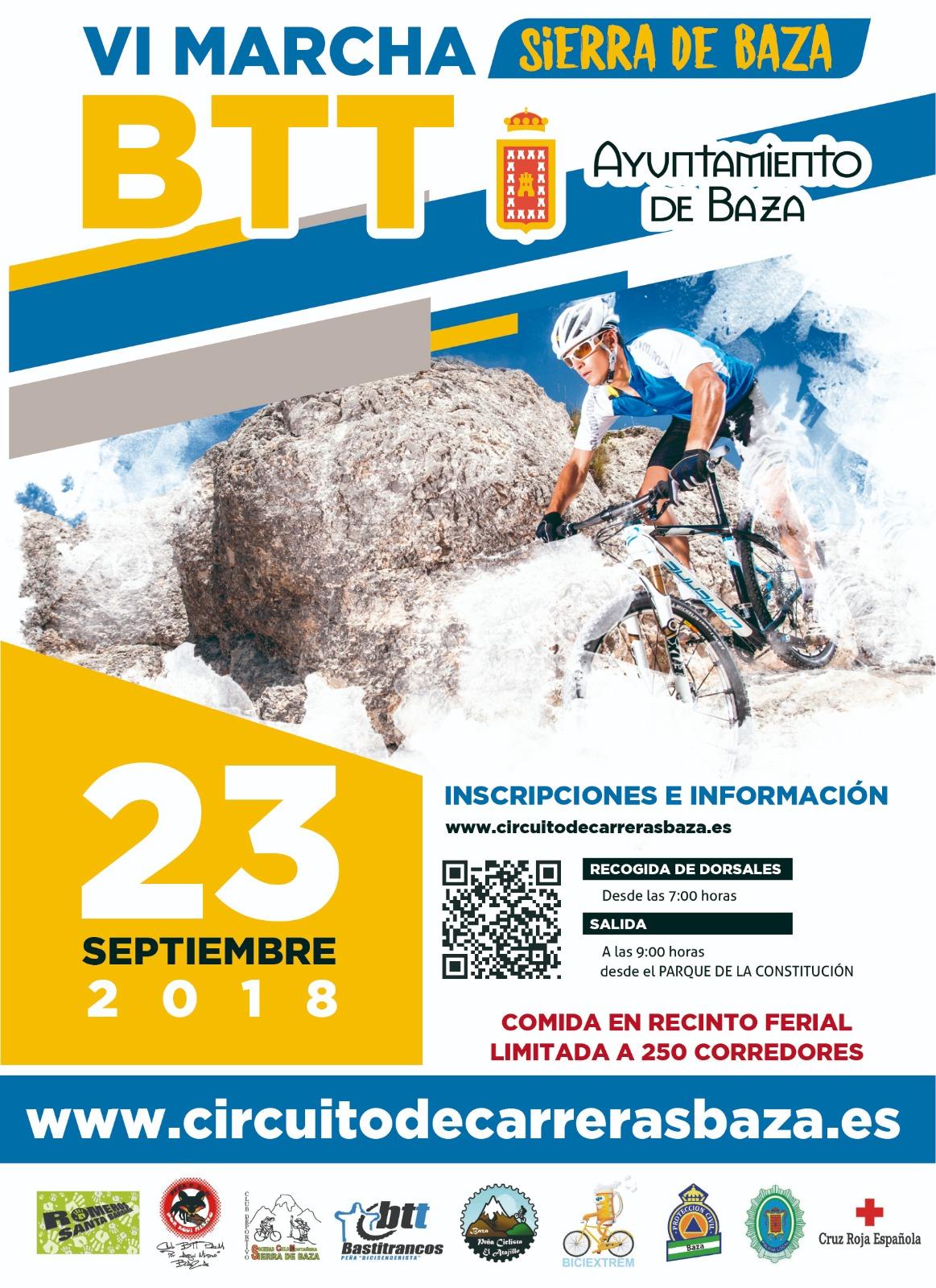 Cartel Marcha Cicloturista 2018