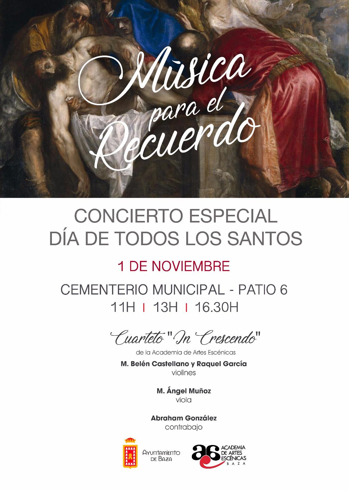 El 1 de noviembre actuará el cuarteto In Crescendo