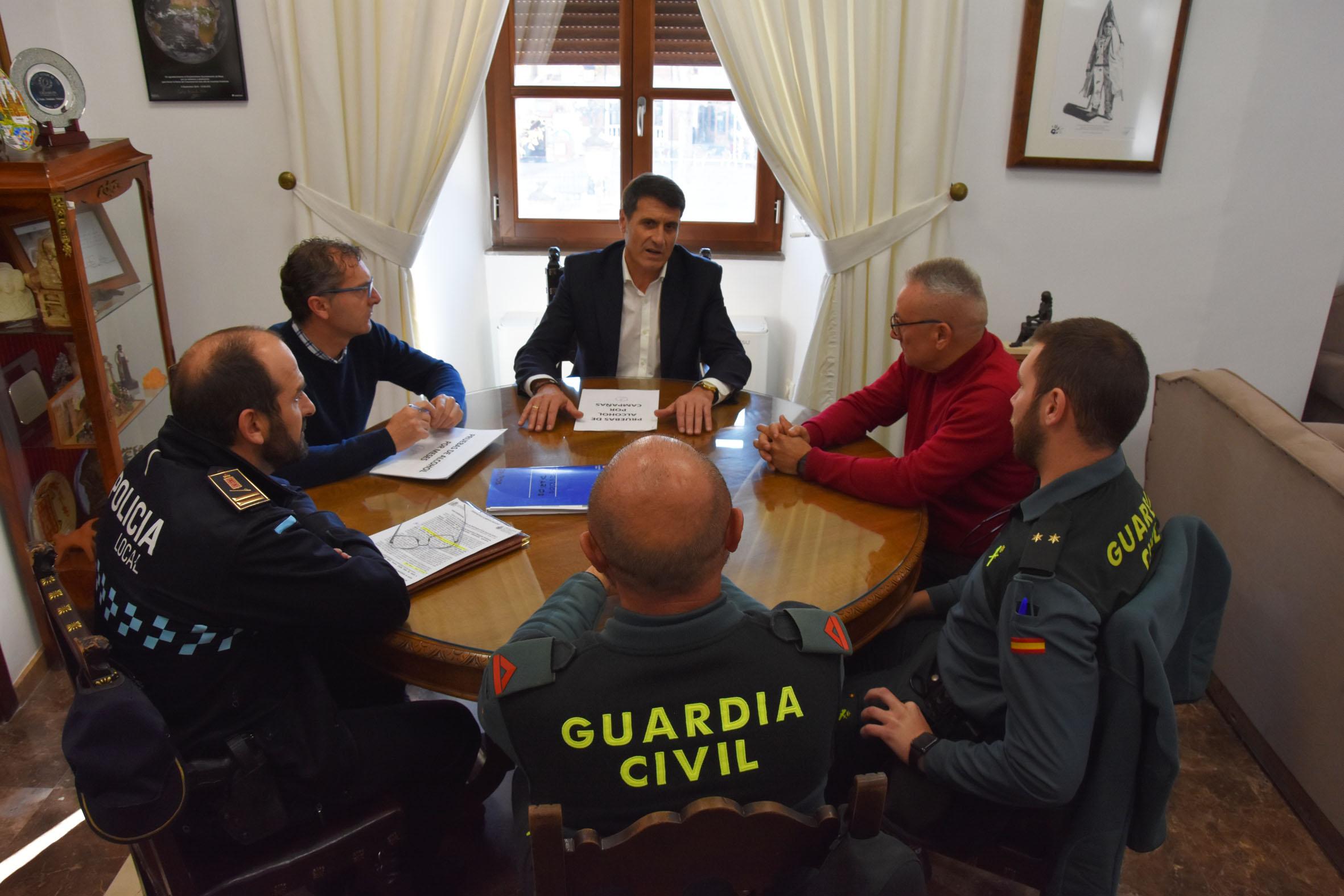 reunion seguridad Baza
