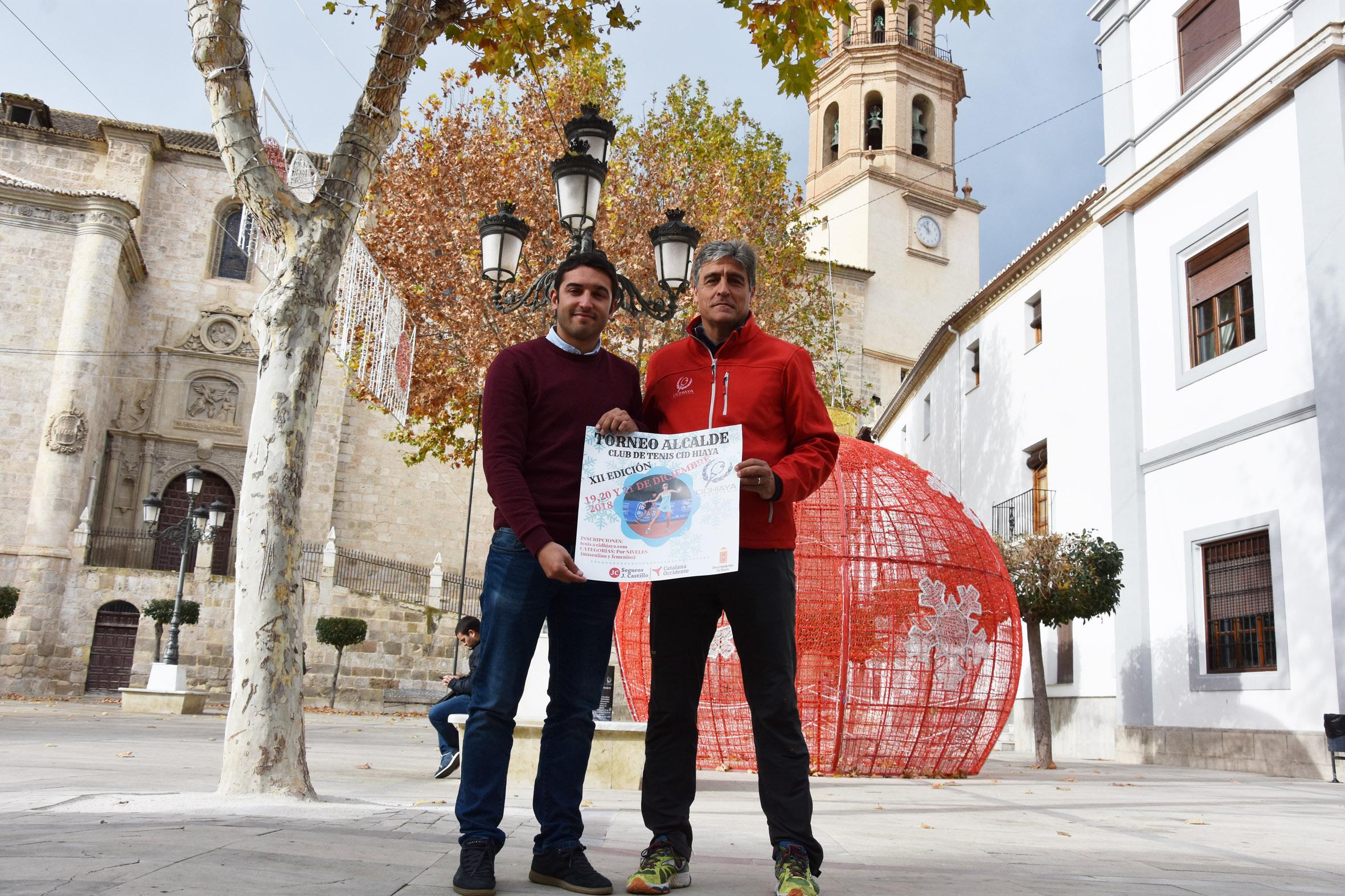 Presentación del cartel del Torneo Alcalde