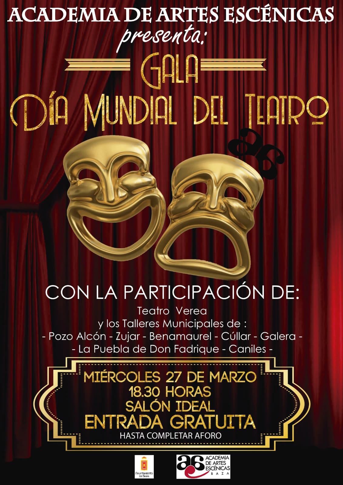 Gala Día Internalcional del Teatro en Baza