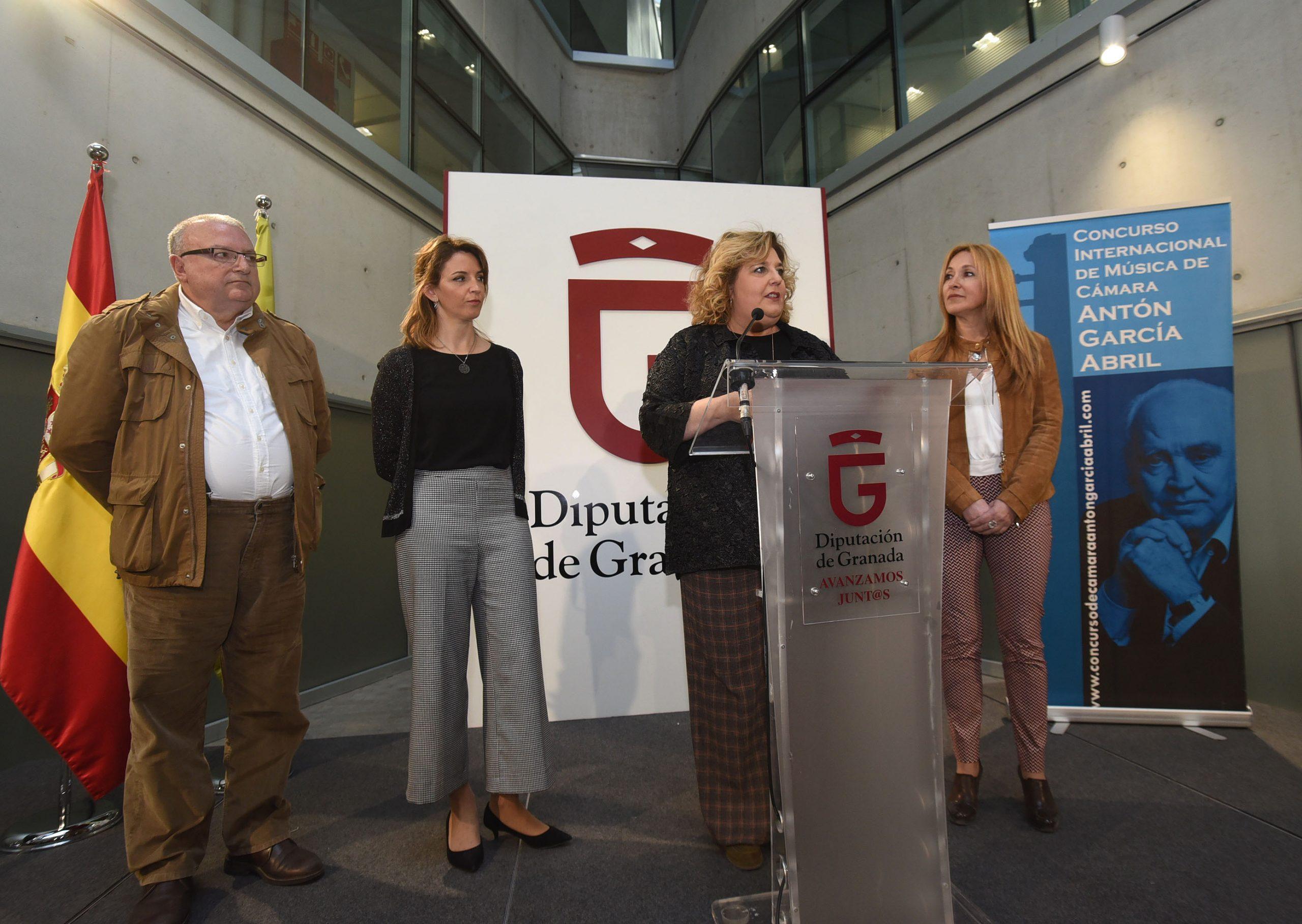 Presentación del concurso Antón García Abril