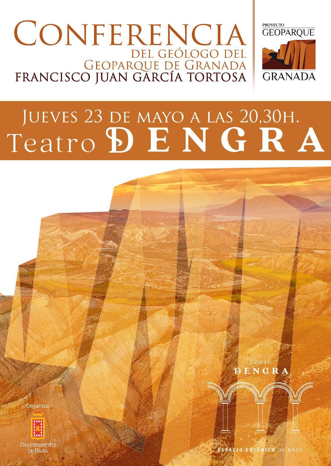 Conferencia del Geoparque de Granada en Baza