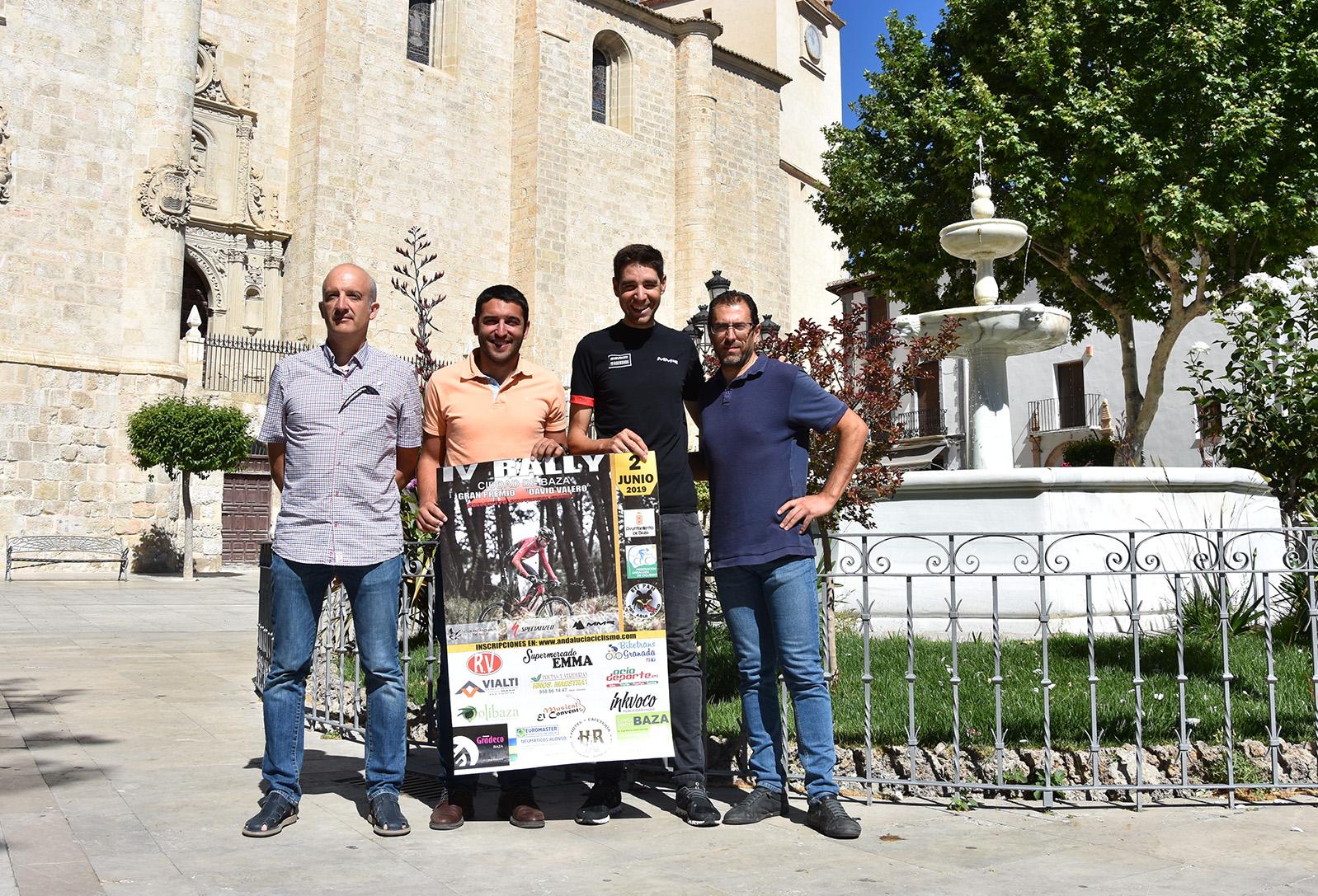 Presentación de la pruena Rally Ciudad de Baza