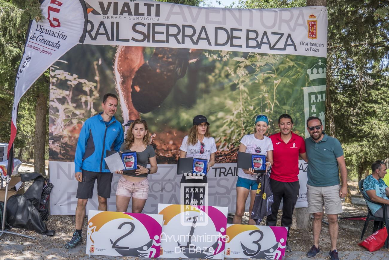 Entrega de trofeos Trail Vialti Sierra de Baza