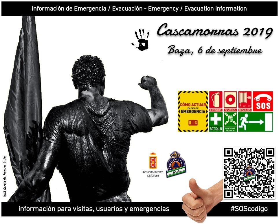 cartel Cascamorras seguro en Baza