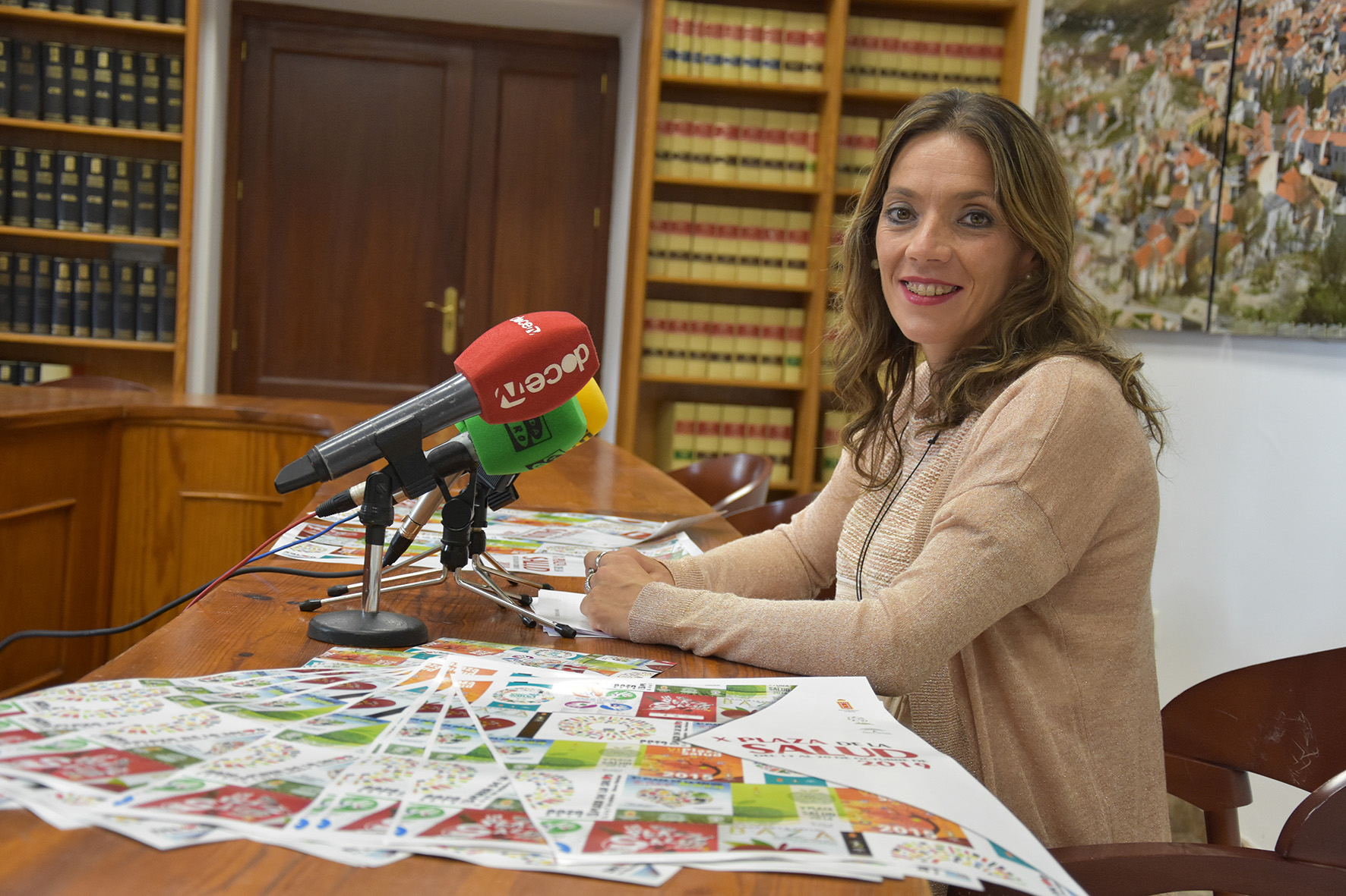 La concejala de Igualdad y Bienestar Social, Mariana Palma, de Baza
