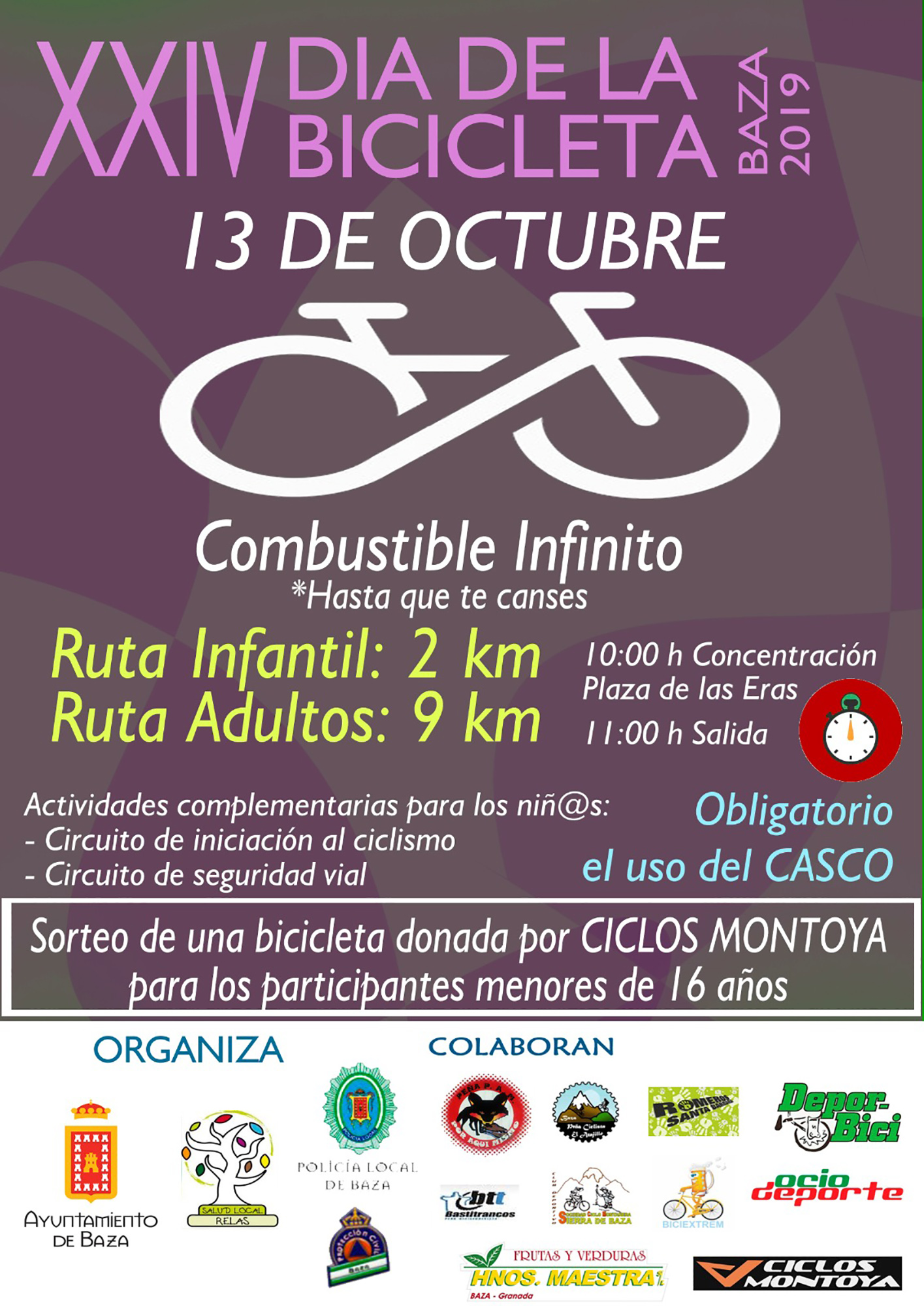 Día de la Bicicleta en Baza