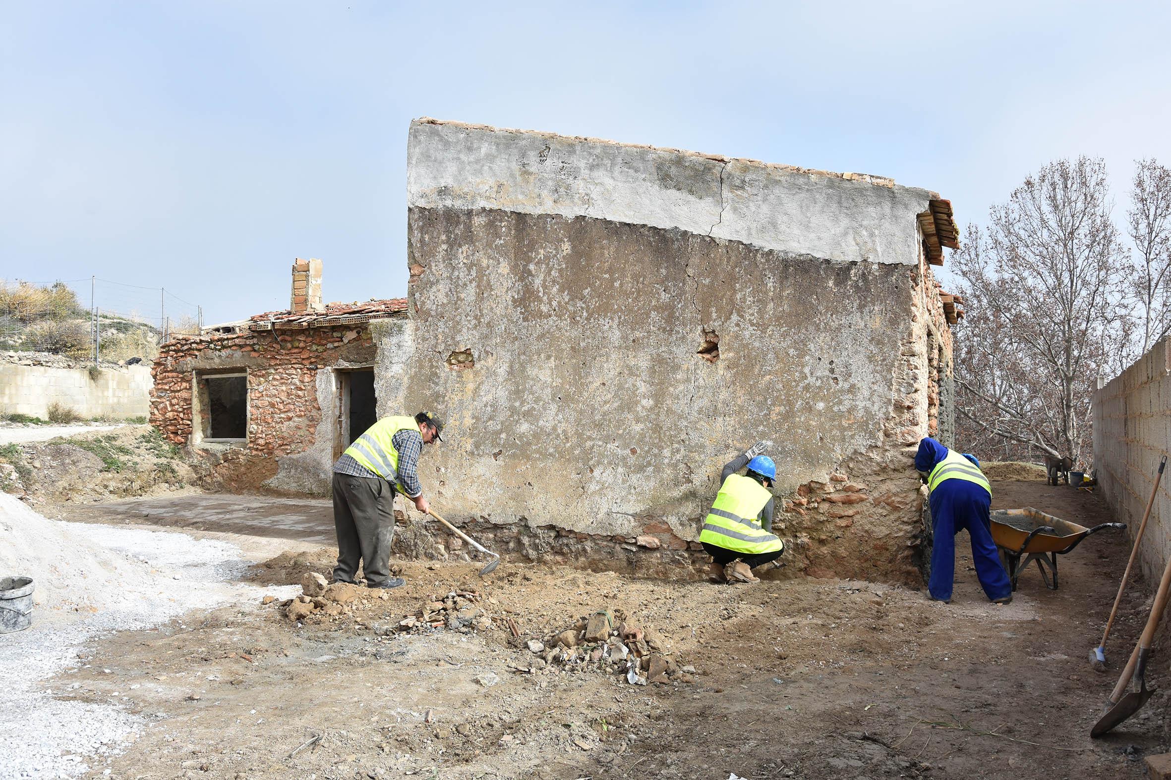 Acondicionamiento de la antigua escuela de las Siete Fuentes en Baza