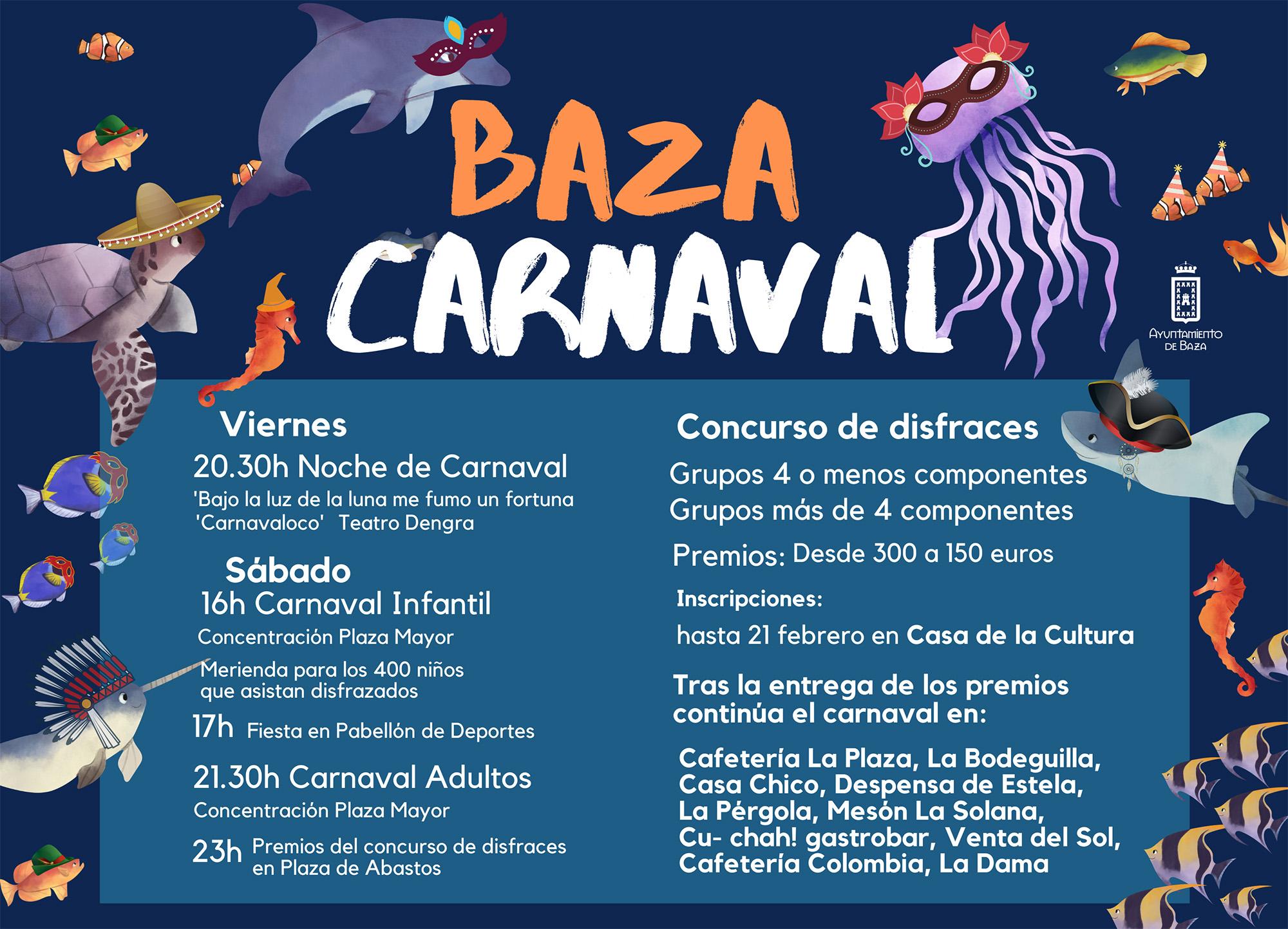 Cartel de Carnaval Baza