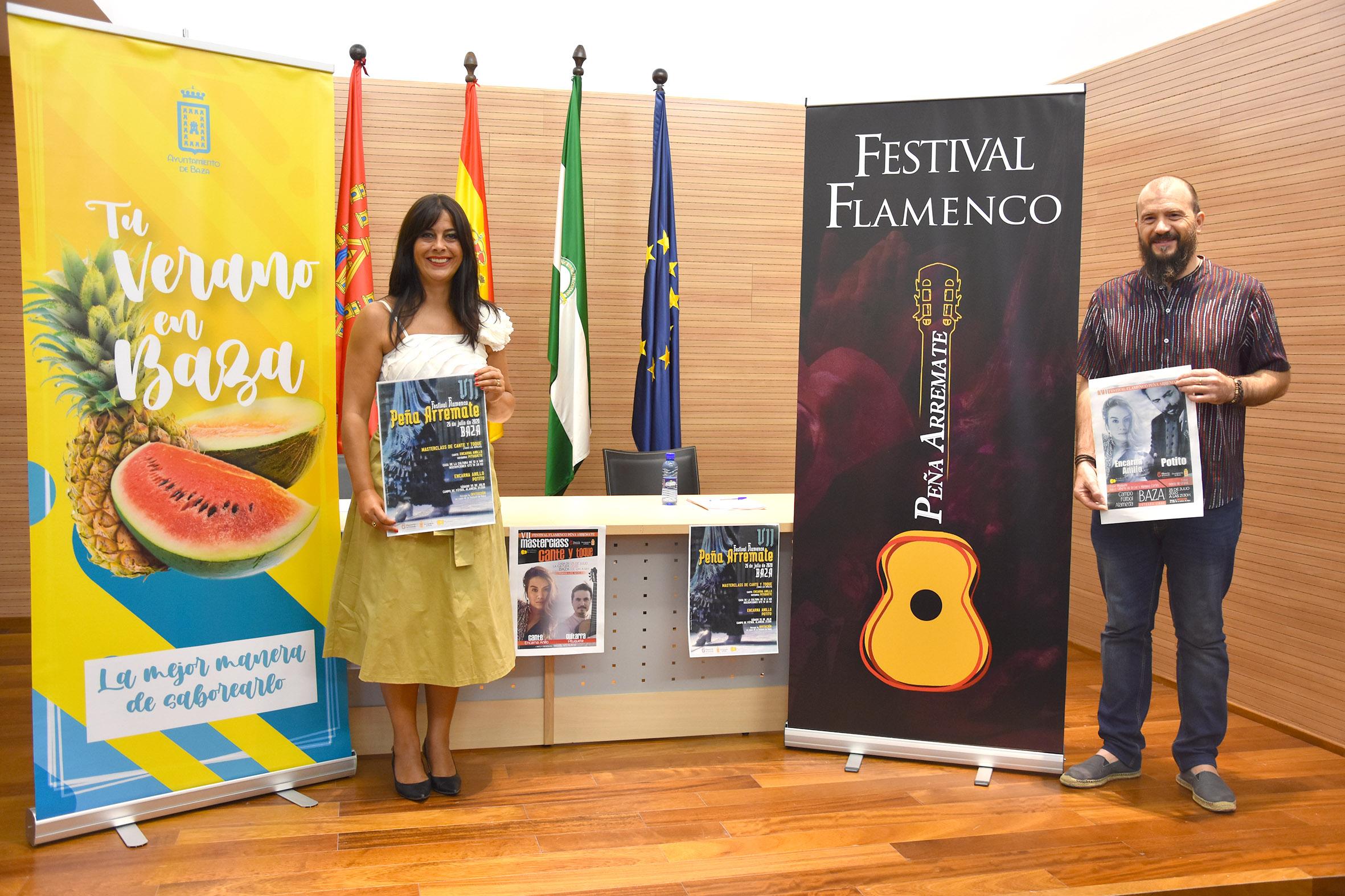 Presentación del Festival Flamenco Peña Arremate