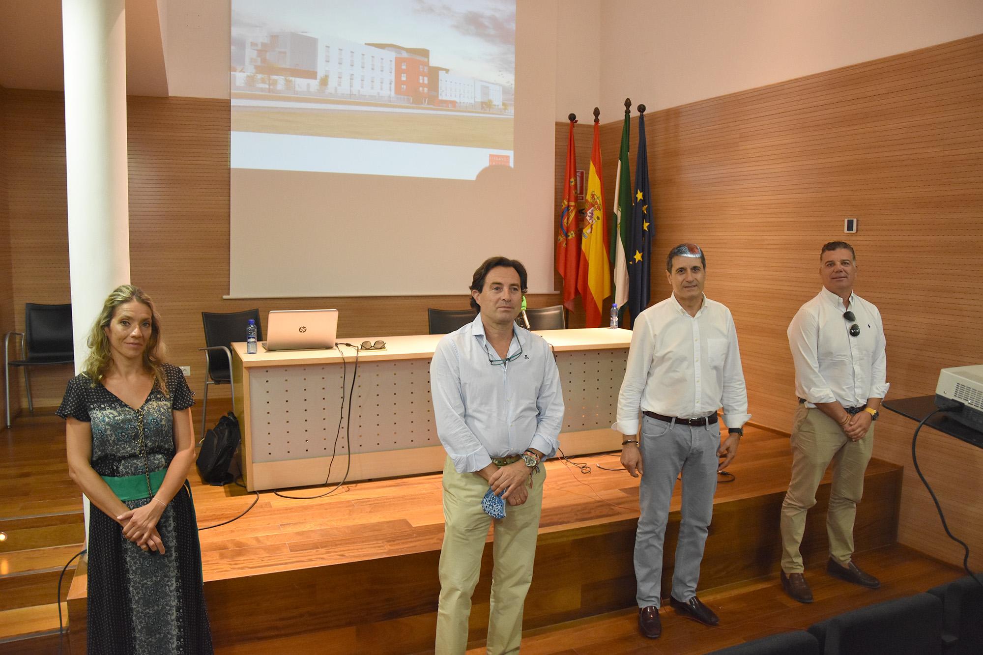 Presentación del proyecto de ampliación de la residencia de mayores Braulia Ramos de Baza