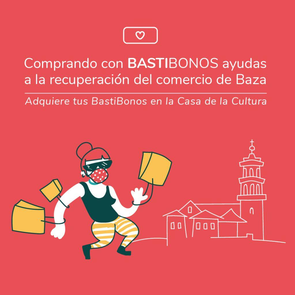 Campaña de impulso de la compra en Baza con BastiBonos