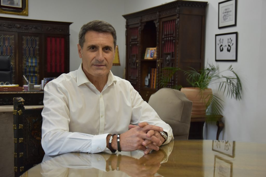 Pedro Fernández, alcalde de Baza